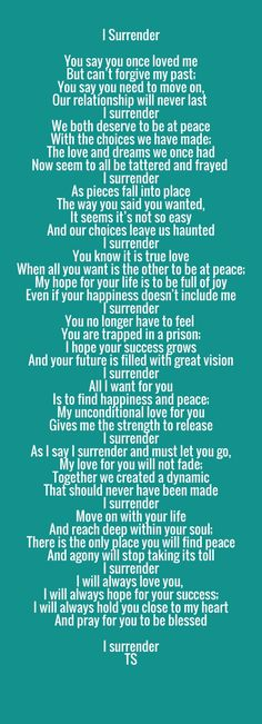 I wrote this with love in my heart for the only man I've ever truly loved. Be at peace and know I will always love you!