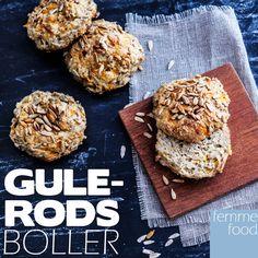 Glutenfrie gulerodsboller