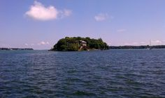 Gibraltar Island, owned by Ohio State University, Lake Erie, by Brian Meek