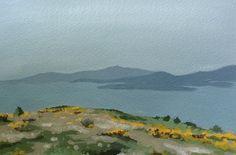 #Art Landscape Painting #Scotland #Landscape by LetsAllMakeBelieve #scottish #painting