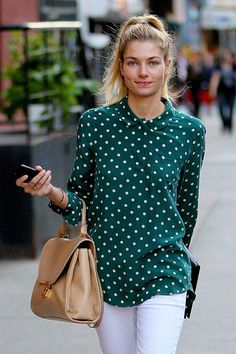 Jessica Hart in NYC