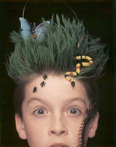The Earth hairdo