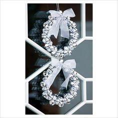 Christmas bell wreaths