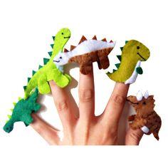 Dinosaur Finger Puppets £9.99