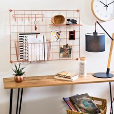 15 Space-saving Hidden Storage Ideas to Help Keep Your Home Tidy - The Trending House Vertical Storage, Hidden Storage, Office Supply Organization, Craft Organization, My New Room, Space Saving, Room Inspiration, Office Decor, Bedroom Decor