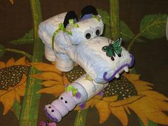 DIAPER HIPPOS~~~ OH SO COOL!! Finally a baby shower gift that SCREAMS it was from ME!!! HAHAHA