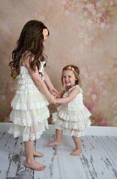 Classic Lace Petti Dress 2 clolors!