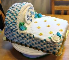 Baby Basket By Karinita7710 on CakeCentral.com