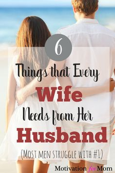 6 Things Every Wife Needs from her Husband to Improve their Marriage, relight the spark in your relationship, and make your spouse happy again. Marriage Goals, Save My Marriage, Strong Marriage, Marriage Relationship, Happy Marriage, Marriage Advice, Love And Marriage, Broken Marriage, Marriage Messages