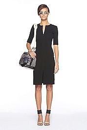 DVF Saturn dress in black or sailor blue