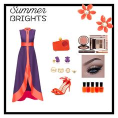 """""""Summer brights"""" by rivaa14 ❤ liked on Polyvore featuring Lattori, New Look, TOUS, LULUS, Charlotte Olympia, Zoya, Kate Spade and Charlotte Tilbury"""
