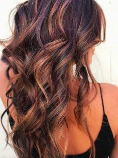 11 fall hair color trends that are going to be huge this year! color dark 11 Fall Hair Color Trends That Are Going to Be Huge This Year Hair Highlights And Lowlights, Hair Color Highlights, Hair Color Dark, Hair Color Balayage, Cool Hair Color, Auburn Balayage, Haircolor, Balayage Brunette, Dark Hair