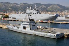 Réalisé sur fonds propres par DCNS et mis à disposition de la flotte française…