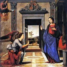 Annunciation - Fra Bartolomeo - 1497