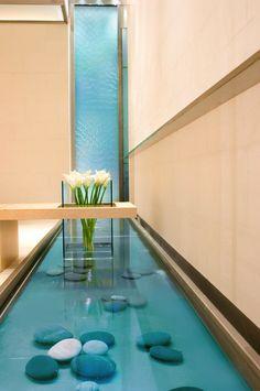 40 best indoor waterfalls design images indoor fountain indoor rh pinterest com Indoor Waterfalls for Home Interior Wall Waterfalls