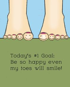 Mmmmm.....happy feet!