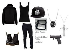"""""""Untitled #244"""" by weirdobutfun on Polyvore featuring River Island, Twenty, Dsquared2, Dr. Martens and Allurez"""