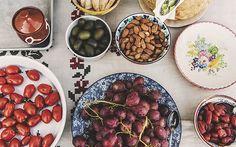 Gastronomos Award Winner!  grapes, cheese and nuts