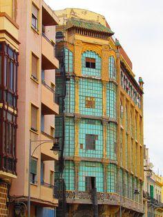 Casa de los Cristales, Melilla, Spain