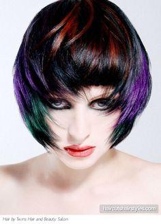 Unconventional hair colors