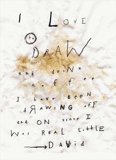 David Lynch, untitled, undated
