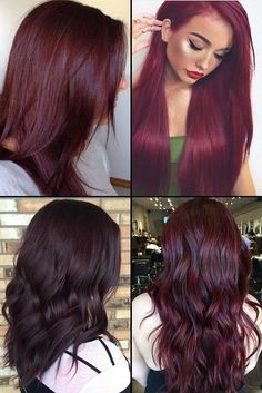 Burgundy  (dull red, red wine shading) is effectively utilized for hair coloring in brunettes. Blondes and ladies with medium dark color...