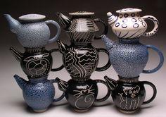 Eileen Goldenberg - Teapots