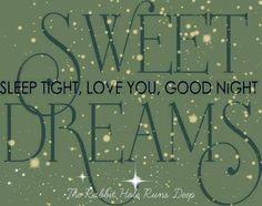 Sweet dreams via www.TheRabbitHoleRunsDeep.Blog.com