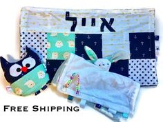 Hebrew baby boy blanketblue anchors blanketminky blanket hebrew baby boy blanketblue anchors blanketminky blanketpersonalized baby giftstroller blanket crib blanket carseat blanket free ship personalised negle Image collections