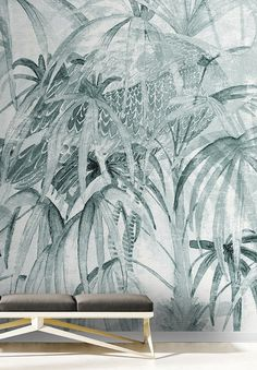 Papel pintado CHINELEAVES by Walpepper