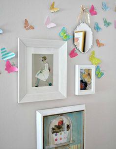 Csinos lány Hálószoba átalakítása - Lány hálószobás ötletek - Good Housekeeping  Képkeretek és képek