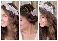 Hair Accessories: DIY 3 Boho Bridal Hair Accessories