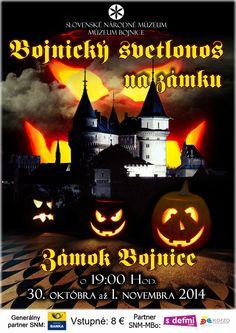 """Bojnický zámok pozýva na halloweensky """"Bojnický svetlonos na zámku"""" - viac na: http://zaujimavosti.net/kultura/bojnicky-zamok-pozyva-na-halloweensky-svetlonos-na-zamku/"""