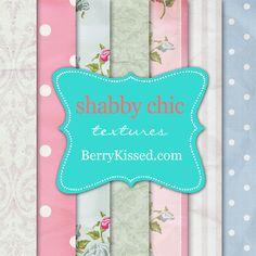 Shabby Chic Textures by BerryKissed.deviantart.com on @deviantART