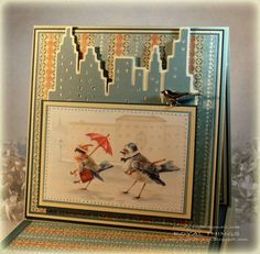 Birds in the City by csroyal - Cards and Paper Crafts at Splitcoaststampers