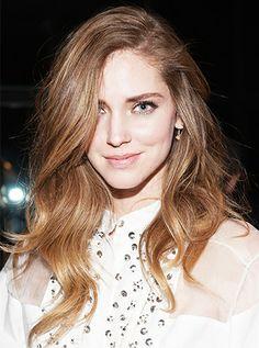 Chiara Ferragni's Side Part // #blondesalad #hairpart #beauty