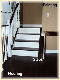 Hallway & stairs + build staircase