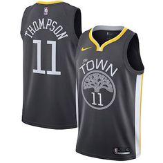 Klay Thompson Golden State Warriors Nike Swingman Jersey - Statement Edition  – Black 52e840e8361