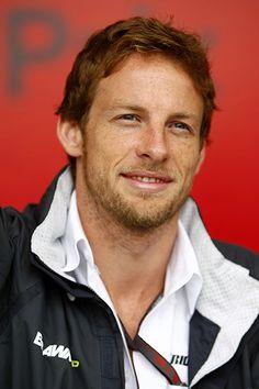 Jenson Button - British Formula 1 driver. 2009 world champion.  Ohh yes.