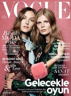 Vogue Turquia - Setembro 2015 (Josephine Le Tutour e Alexandra Ljadov)