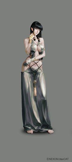 ArtStation - Mabinogi2 Illustration, Han AhReum: