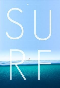 SURF. Simple and clean graphic inspiration.