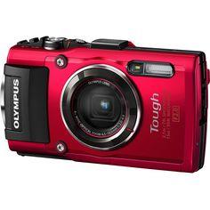 Olympus Stylus TOUGH TG-4 Digital Camera (Red) $299