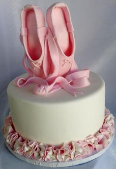 Image result for ballet shoe cake topper