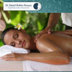 Comienza tu semana relajando toda tensión con un masaje descontracturante, tú decides, cuello y espalda o todo el cuerpo. Provenza Spa Med