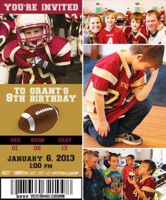Creative Kids Football Birthday Party Ideas
