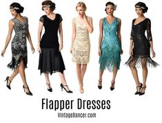 What to Wear: Roaring Twenties Gatsby Themed Event - - What to Wear: Roaring Twenties Gatsby Themed Event Source by hgolight Great Gatsby Outfits, Roaring 20s Outfits, Great Gatsby Party Dress, Party Outfits For Women, 1920s Outfits, 20s Party, The Roaring Twenties, 1920s Fashion Gatsby, Roaring 20s Fashion