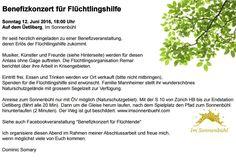 Basel, Herbs, Fundraiser Event, Geneva, Concert, Sunday, Cordial, Cottage House, Herb