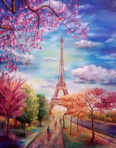 Творческий портал Creative.SU : Весна в Париже