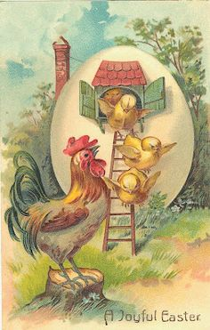 Card-Blanc by Kathy Martin: Free Vintage Easter Downloads